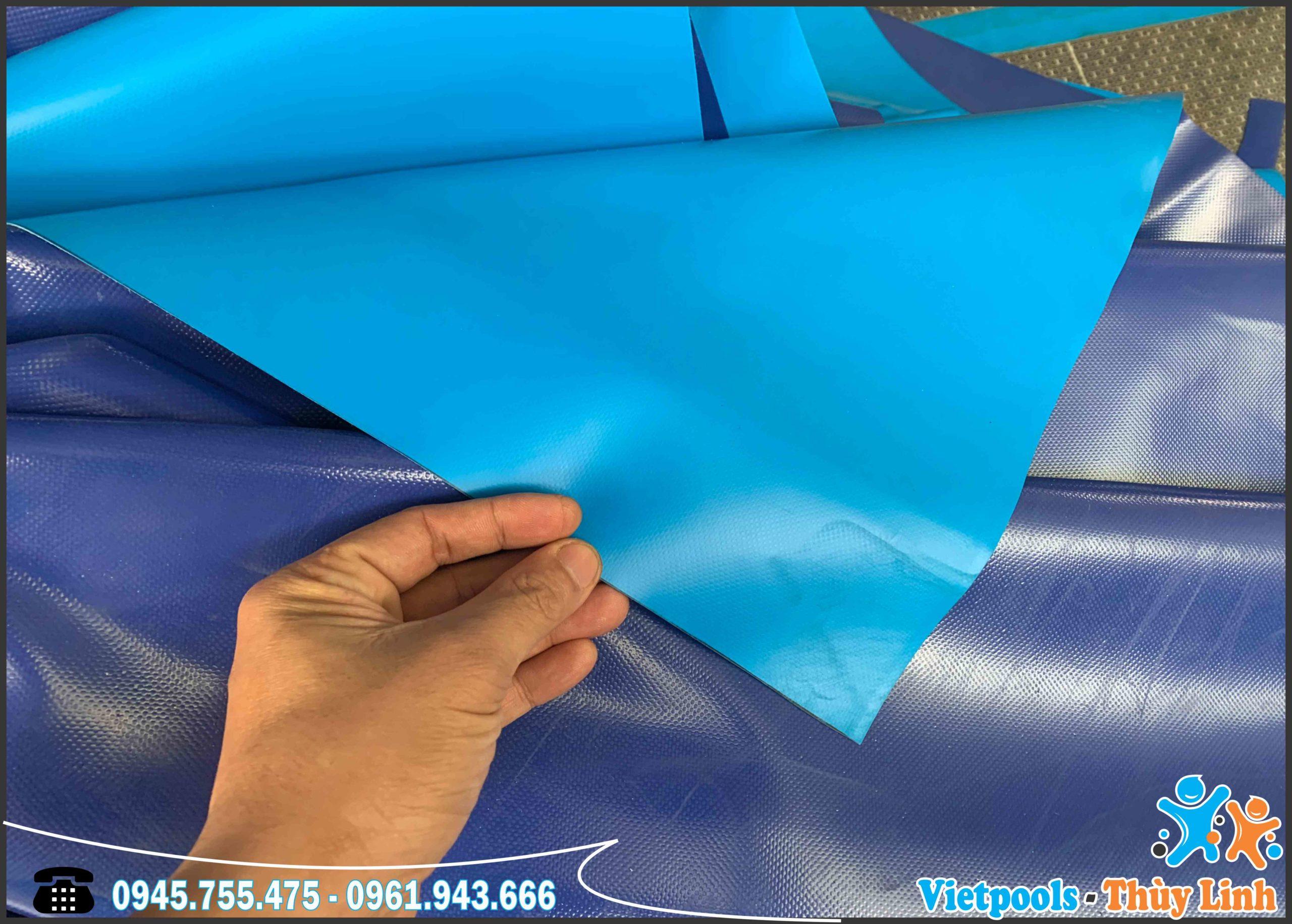 Bể Bơi Di Động Lắp Ghép Thông Minh 11,1m x 24,6m 5