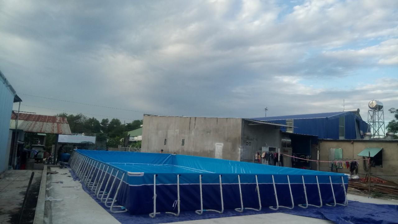Bể Bơi Lắp Ghép Thông Minh Vietpools Năm 2020 KT 12.6m x 24.6m