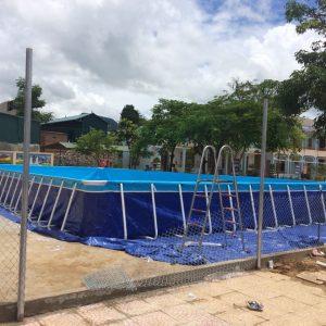bể bơi lắp ghép thông minh