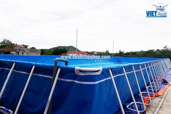 Bể Bơi Thông Minh Lắp Ghép Vietpools 9,6m x 27,6m 3
