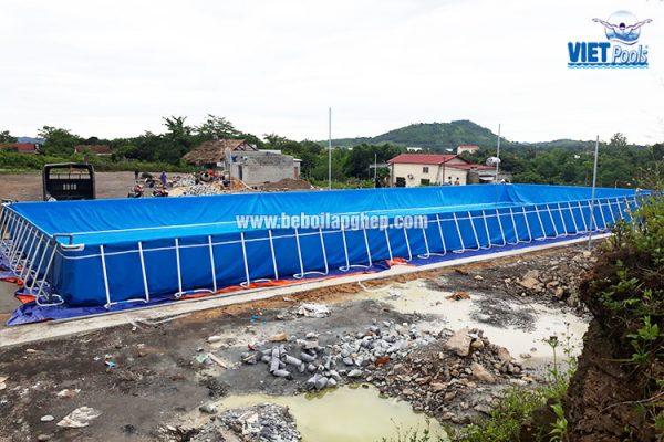 Bể Bơi Thông Minh Lắp Ghép Vietpools 9,6m x 27,6m 1