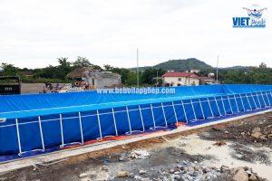 Bể Bơi Thông Minh Lắp Ghép Vietpools 9,6m x 27,6m 12