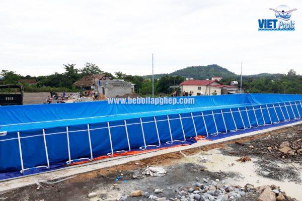 Bể Bơi Thông Minh Lắp Ghép Vietpools 9,6m x 27,6m 2