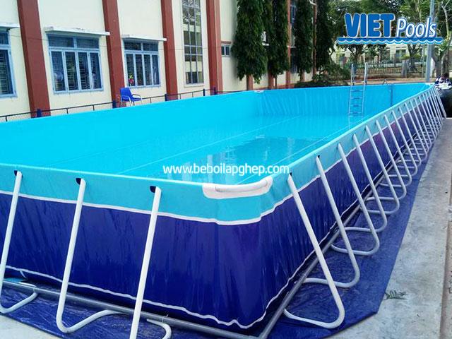 Bể Bơi Trường Học Tiểu Học 5,1m x 18,6m