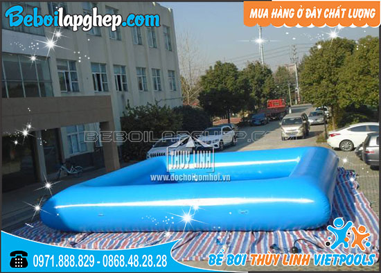 Bể Bơi Bạt Bơm Hơi 4m x 4m x 0,4m 2