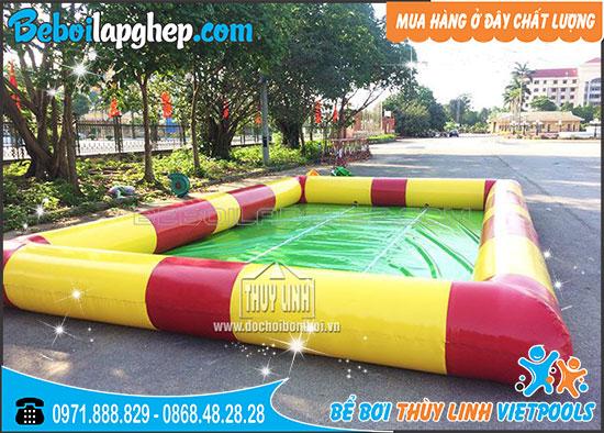 Bể Bơi Bơm Hơi Thùy Linh 4m x 6m x 0,4m