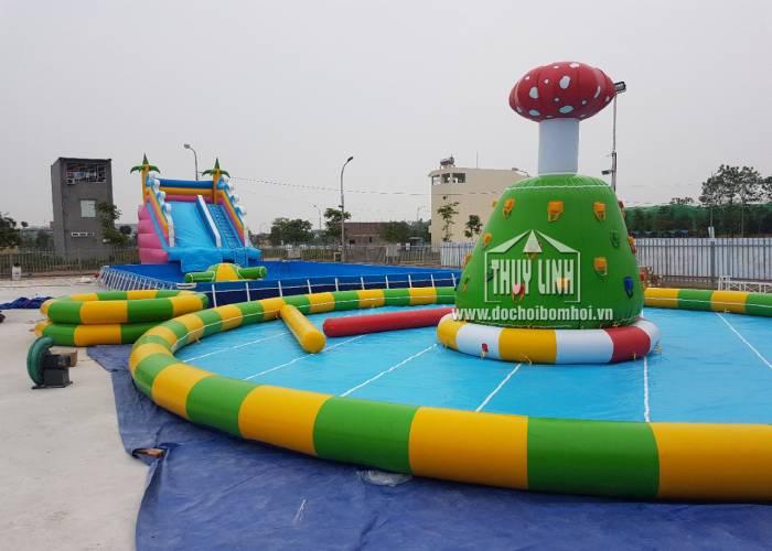 Bể Bơi Phao Cỡ Lớn Thùy Linh Cho Khu Vui Chơi 2020