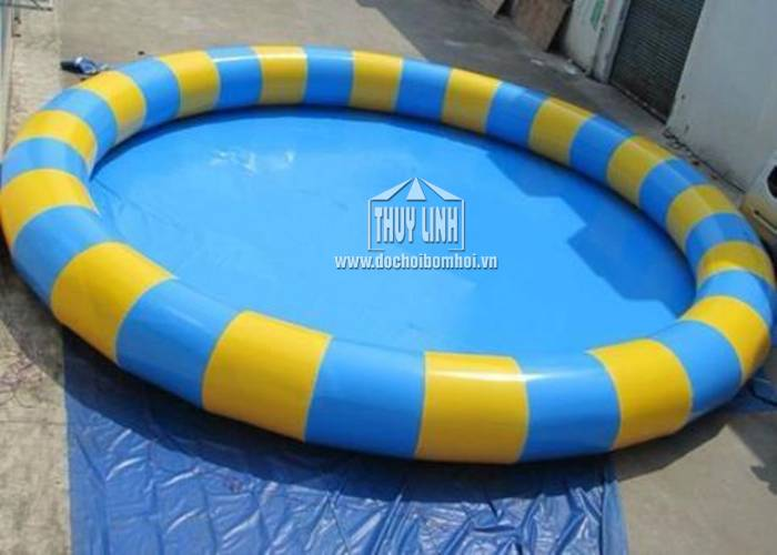 Bể Bơi Tròn Bơm Hơi Thùy Linh ĐK 4m x 0,3m