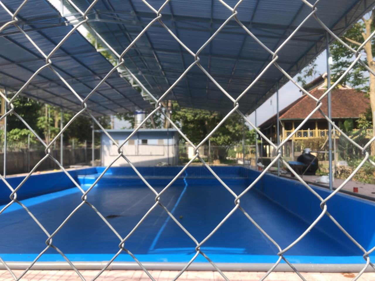 2 Ứng Dụng ,3 Ưu Điểm & 5 Lý Do Làm Hồ Bơi Trải Bạt PVC 22
