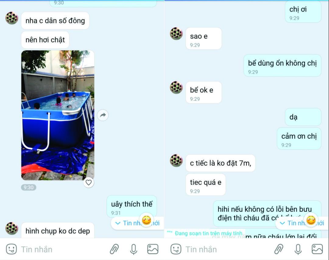 Bể Bơi Mini Gia Đình Giá Rẻ, Free Ship 100% 6