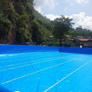 Hồ Bơi Dạy Bơi 9,6m x 20,1m 9
