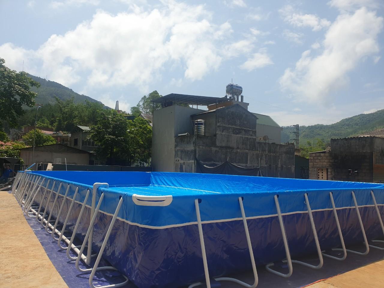 Hồ Bơi Dạy Bơi 9,6m x 20,1m 13