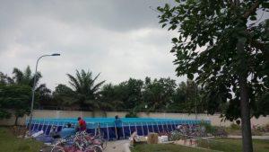 hồ bơi lắp ghép trường học