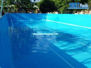 hồ bơi thông minh lắp ghép