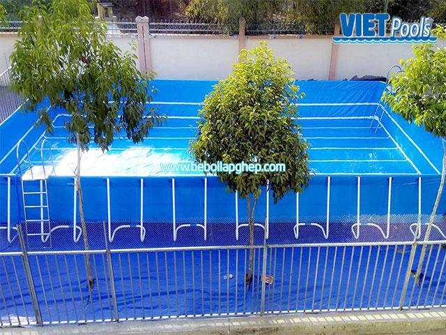 Bể Bơi Di Động Lắp Ghép Thông Minh 8,1m x 15,6m