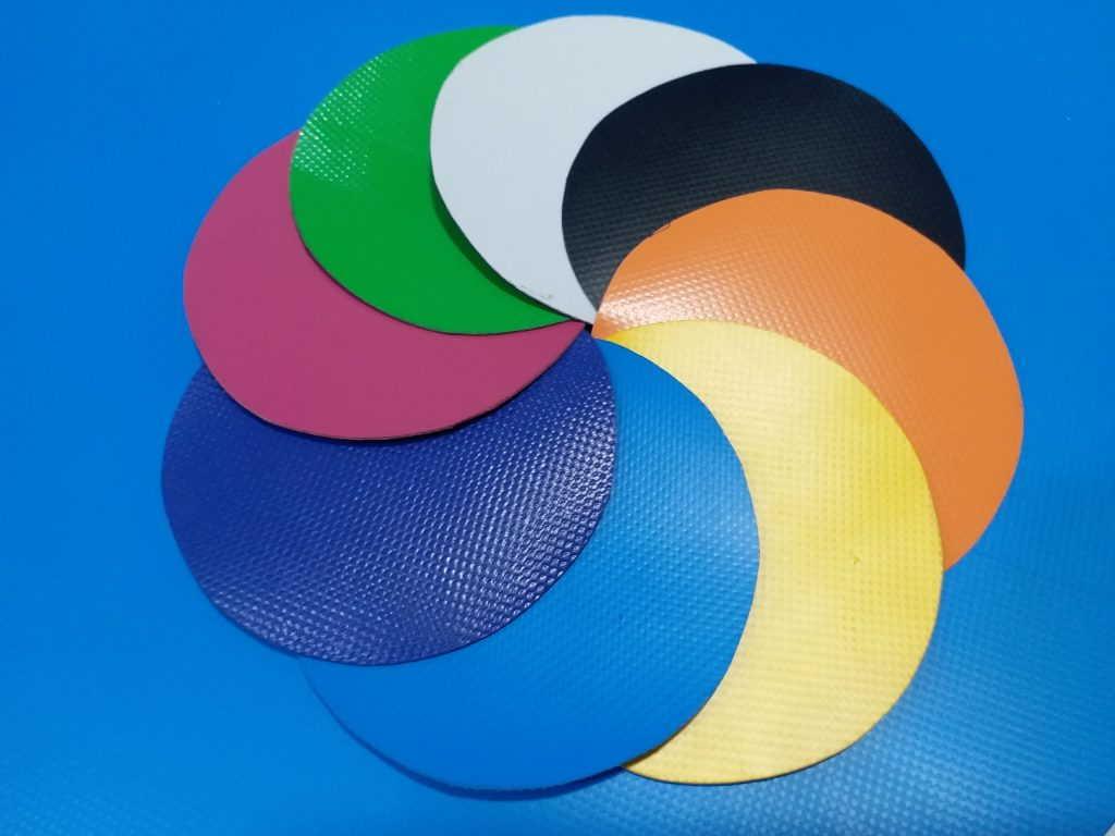 Màu sắc bạt nhựa PVC