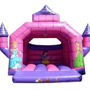 nhà hơi lâu đài mini