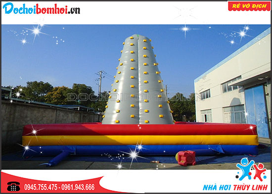 Nhà Hơi Ụ Leo Thuỳ Linh 9m x 9m x 7.3m