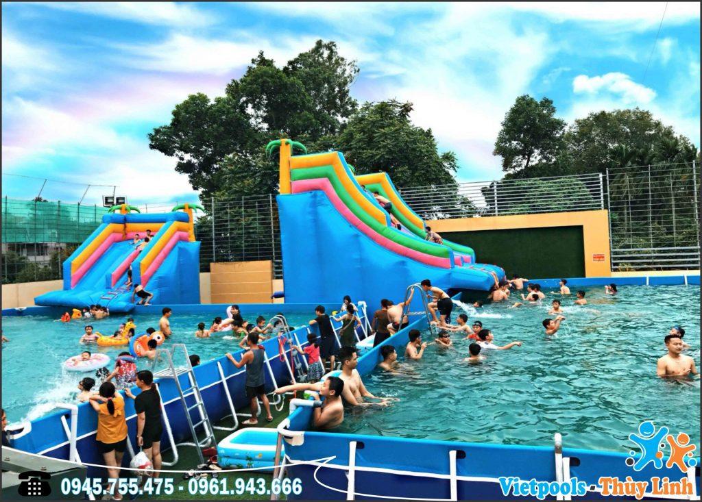 Sản Xuất Hồ Bơi Di Động - Hồ Bơi Lắp Ráp Giá Sốc 2020 1