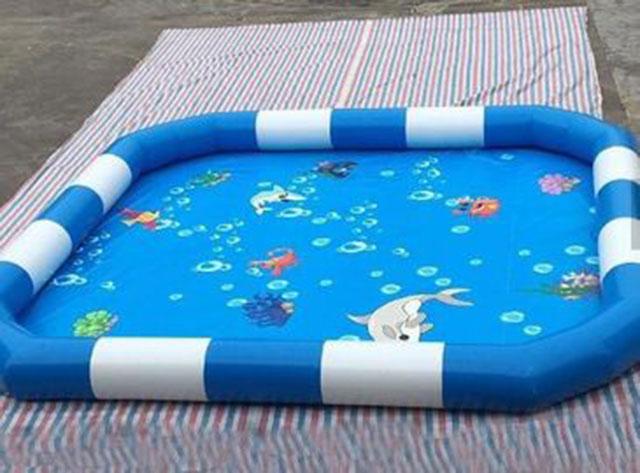 Bể Bơi Bơm Hơi Câu Cá Cho Bé 2m x 2m