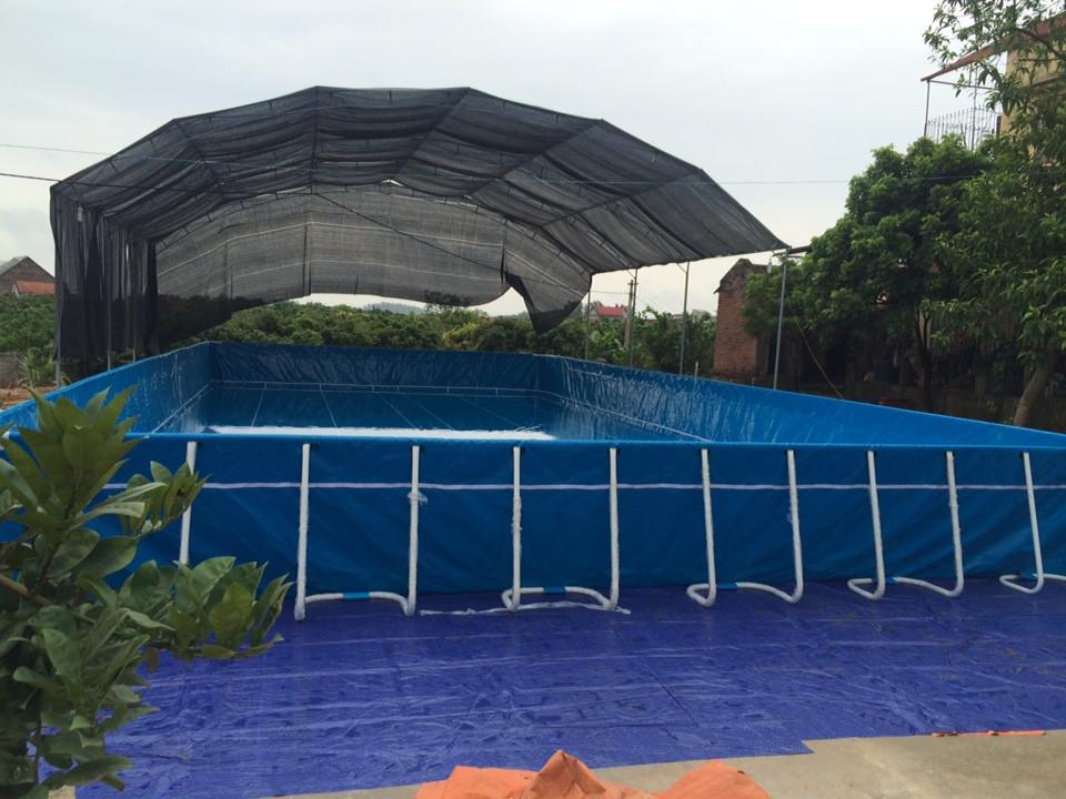 Bể Bơi Di Động Lắp Ghép Thông Minh 11,1m x 24,6m