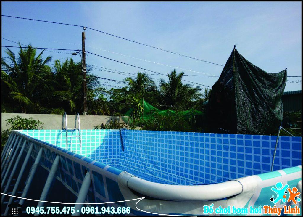 Bể Bơi Mini Gia Đình Giá Rẻ, Free Ship 100% 1
