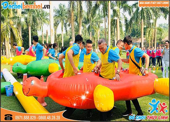 Rùa Bơm Hơi Team Building 2,5m x 1,8m