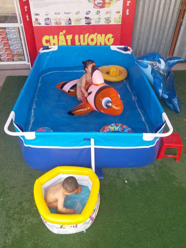Mua Bể Bơi Bơm Hơi Cho Trẻ Ở Đâu? 1