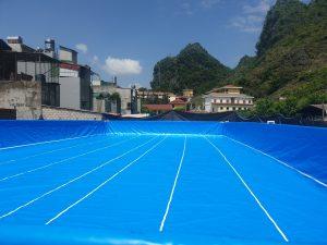 Hồ Bơi Dạy Bơi Lắp Đặt Tại Hà Giang 9.6x201x1.2m 21