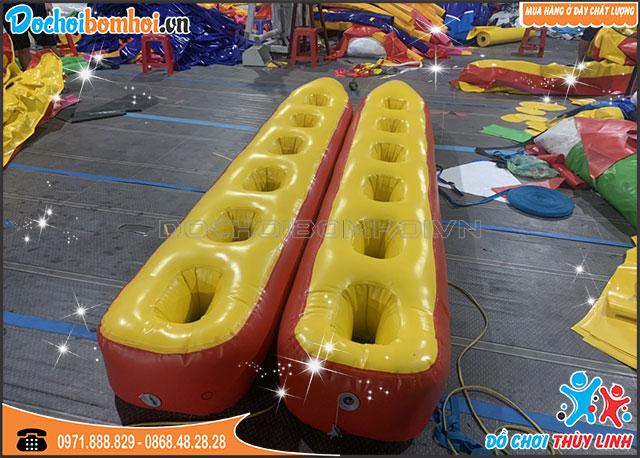 Giày Bơm Hơi 6 Lỗ Đồ Chơi Team Building