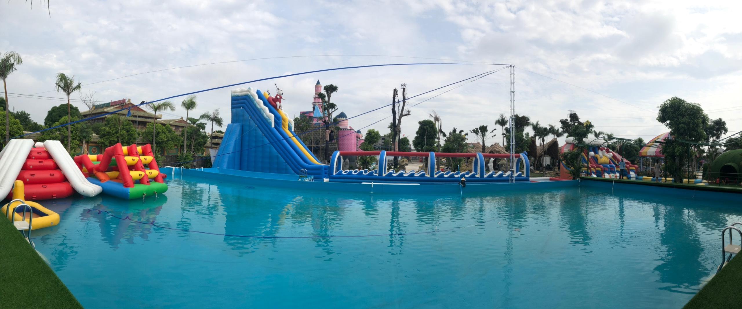 kinh doanh khu vui chơi bể bơi