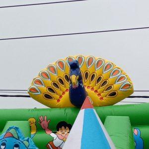 Nhà Phao Lâu Đài Bơm Hơi Pikachu 5m x 10m 3