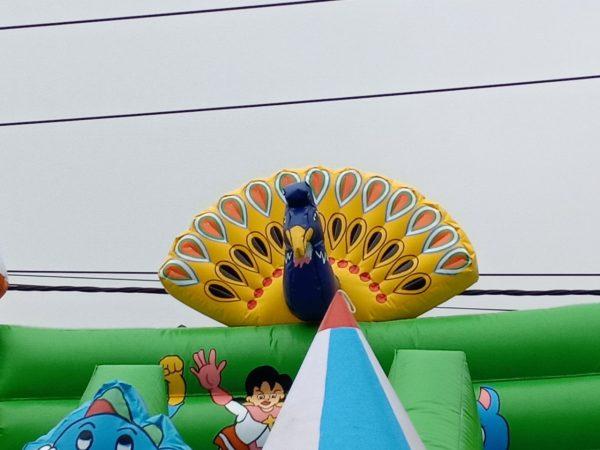Nhà Phao Lâu Đài Bơm Hơi Pikachu 5m x 10m 1