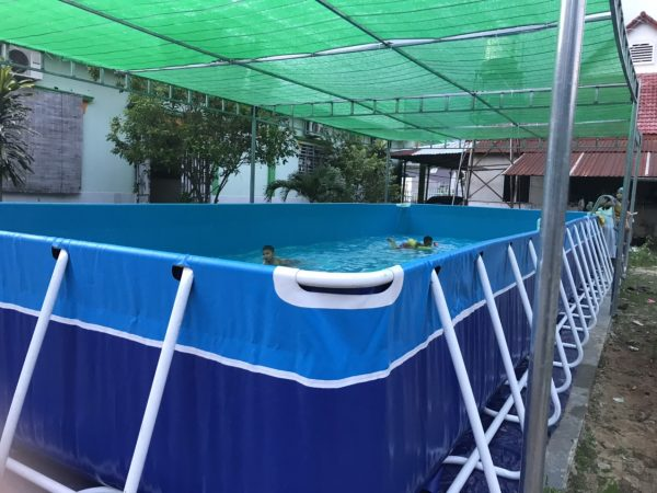 Bể Bơi Di Động Lắp Ghép 5,1m x 12,6m x 1,2m 2