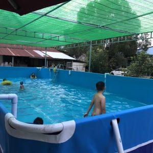 Bể Bơi Di Động Lắp Ghép 5,1m x 12,6m x 1,2m 4