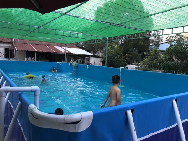 Bể Bơi Di Động Lắp Ghép 5,1m x 12,6m x 1,2m 1