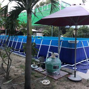 Bể Bơi Di Động Lắp Ghép 5,1m x 12,6m x 1,2m 6