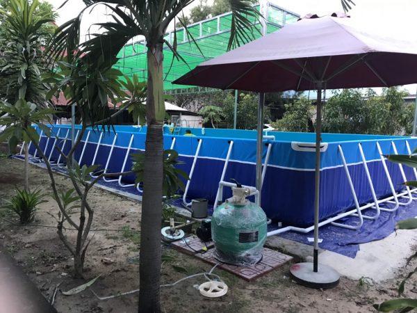 Bể Bơi Di Động Lắp Ghép 5,1m x 12,6m x 1,2m 3