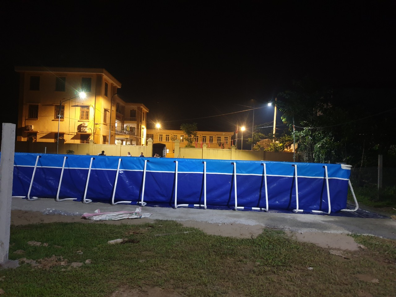 Bể Bơi Lắp Ghép Thông Minh 9,6m x 20,1m x 1,2m