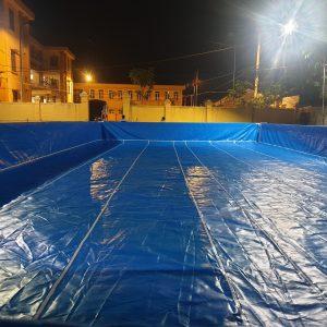Bể bơi di động lắp ghép sẽ là sản phẩm giúp mang đến sự thư giãn, sảng khoái trong sử dụng