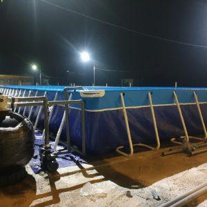 Bể Bơi Lắp Ghép Thông Minh 9,6m x 20,1m x 1,2m 3
