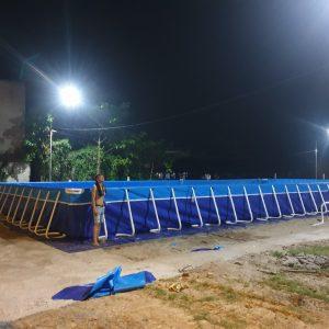 Bể Bơi Lắp Ghép Thông Minh 9,6m x 20,1m x 1,2m 4