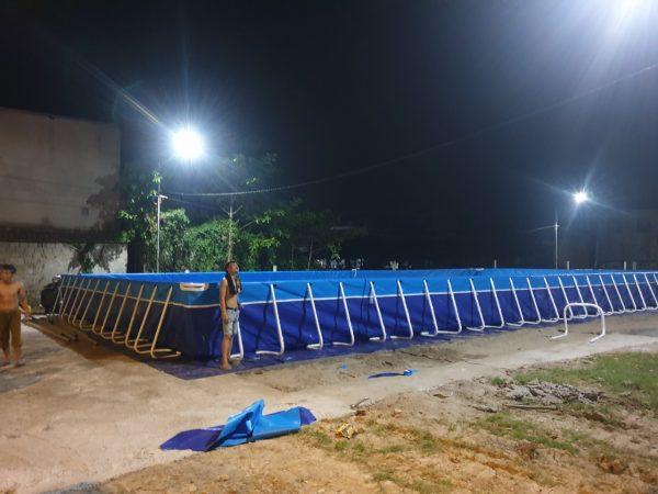Bể Bơi Lắp Ghép Thông Minh 9,6m x 20,1m x 1,2m 2