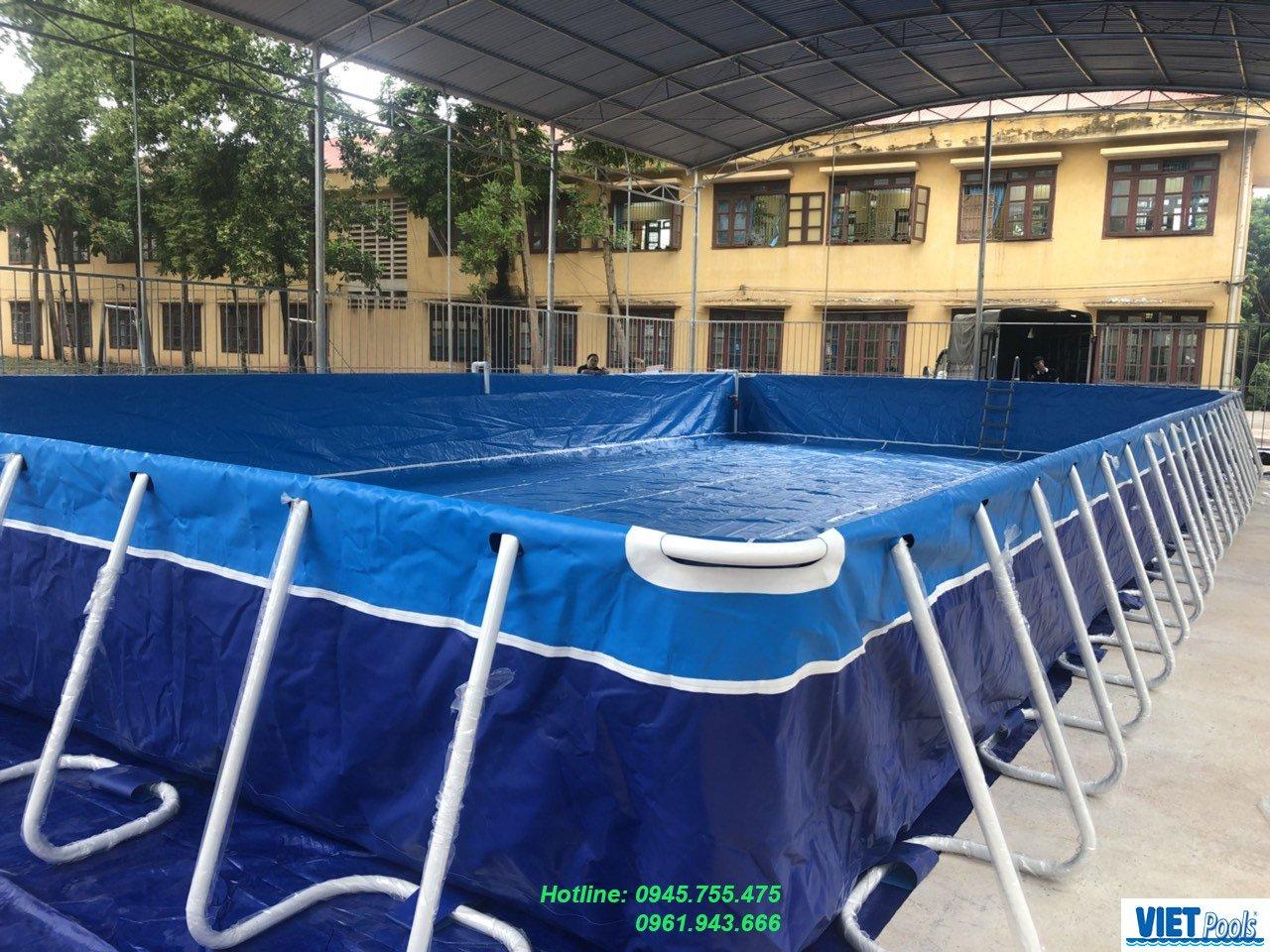Bể bơi thông minh trường học Viet Pools