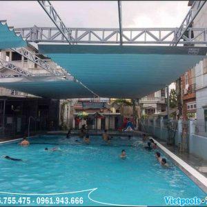 bể bơi âm lót bạt PVC chất lượng