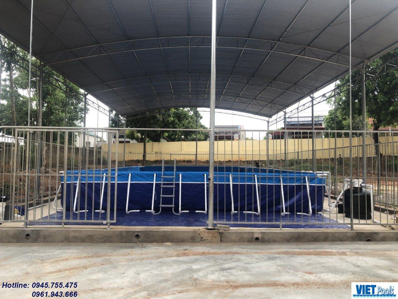 Bể bơi thông minh trường học Việt Pools, Bể bơi lắp ghép trường học Việt Pools