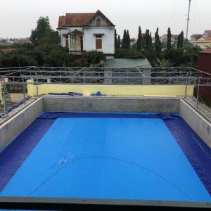 Bể Bơi Âm Lót Bạt Nhựa PVC Chất Lượng Cao - Khách Hàng Tin Dùng 2