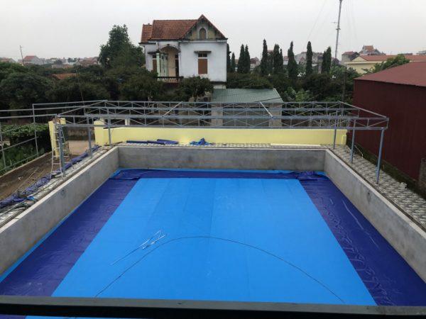 Bể Bơi Âm Lót Bạt Nhựa PVC Chất Lượng Cao - Khách Hàng Tin Dùng 1