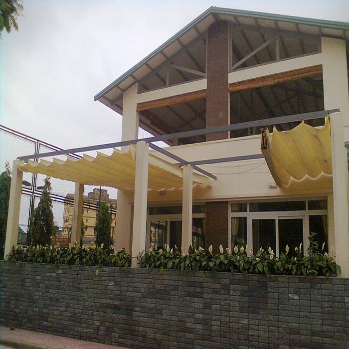 Mái Bạt Kéo