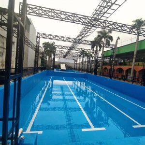 bộ 3 bể bơi âm